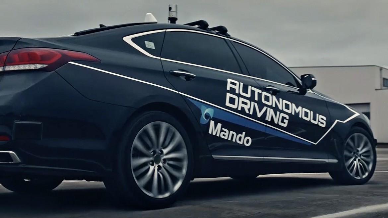 Mando's Autonomous Driving Technologies Making Dreams Come True