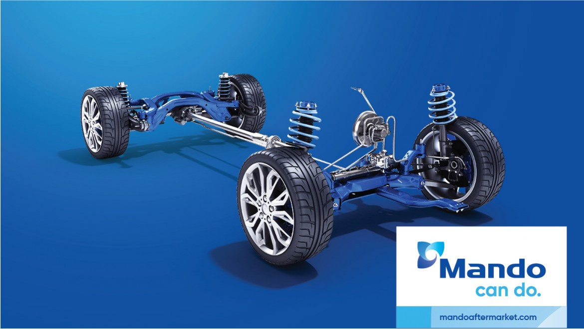Mando Signed a Contract with Volkswagen Group to Supply 50 Million Suspension Parts