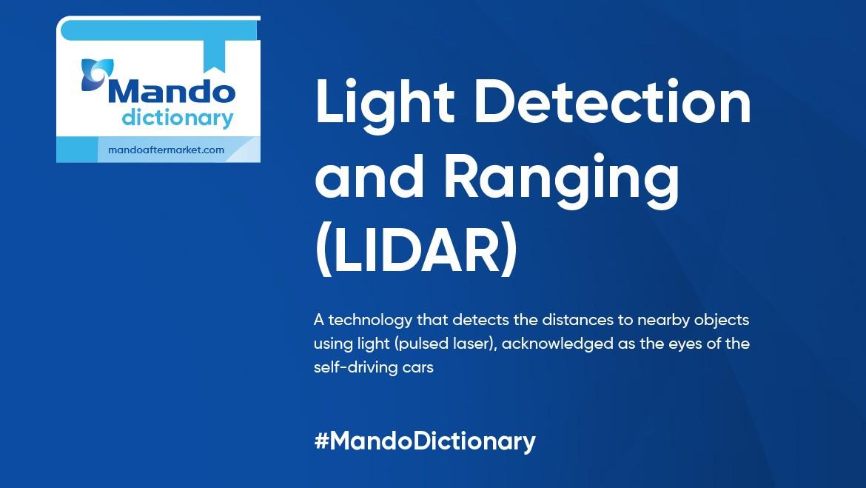 Dictionary of Acronyms: LIDAR